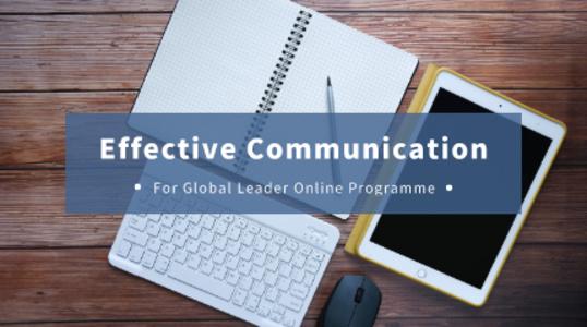 2021 Global Talents Online Programme - Effective Communication on Multicultural Platform